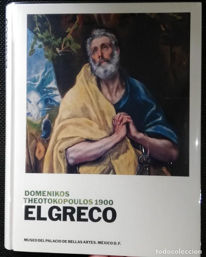 DOMENICOS THEOTOKOPOULOS 1900 EL GRECO (Libros de Segunda Mano - Bellas artes, ocio y coleccionismo - Pintura)