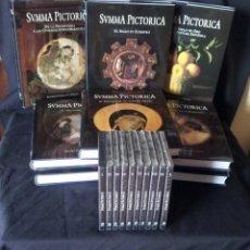 Libros de segunda mano: SUMMA PICTORICA - HISTORIA UNIVERSAL DE LA PINTURA (10 TOMOS) COMPLETA - CON 10 DVD. Lote 161567978