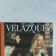 Libros de segunda mano: VELÁZQUEZ LOS GRANDES GENIOS DEL ARTE. Lote 163238456