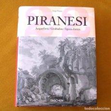 Libros de segunda mano: GRABADOS / PIRANESI. TEXTO TRILINGÜE.. Lote 163353198