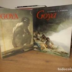Libros de segunda mano: GOYA Y EL ESPÍRITU DE LA ILUSTRACIÓN + GOYA .EL CAPRICHO Y LA INVENCIÓN . MUSEO DEL PRADO. UNA JOYA. Lote 164133574