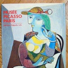 Libros de segunda mano: MUSÉE PICASSO PARÍS: CATÁLOGO DE LAS COLECCIONES - VV.AA.. Lote 164214210