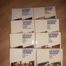 Libros de segunda mano: LA PINTURA EN LOS GRANDES MUSEOS - 8 TOMOS / COMPLETA - PLANETA. Lote 164229646
