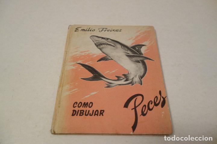 EMILIO FREIXAS. COMO DIBUJAR PECES. (Libros de Segunda Mano - Bellas artes, ocio y coleccionismo - Pintura)