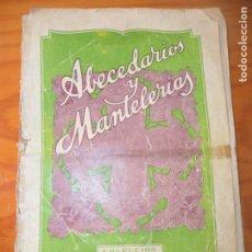 Libros de segunda mano: ABECEDARIOS Y MANTELERIAS, COLECCION: EL DIBUJANTE- HACER LETRAS MAYUSCULAS - AÑOS 40 CASA CALEF. Lote 165585474