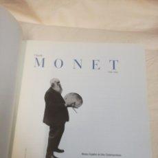 Libros de segunda mano: CLAUDE MONET LIBRO CATALOGO. Lote 165600461
