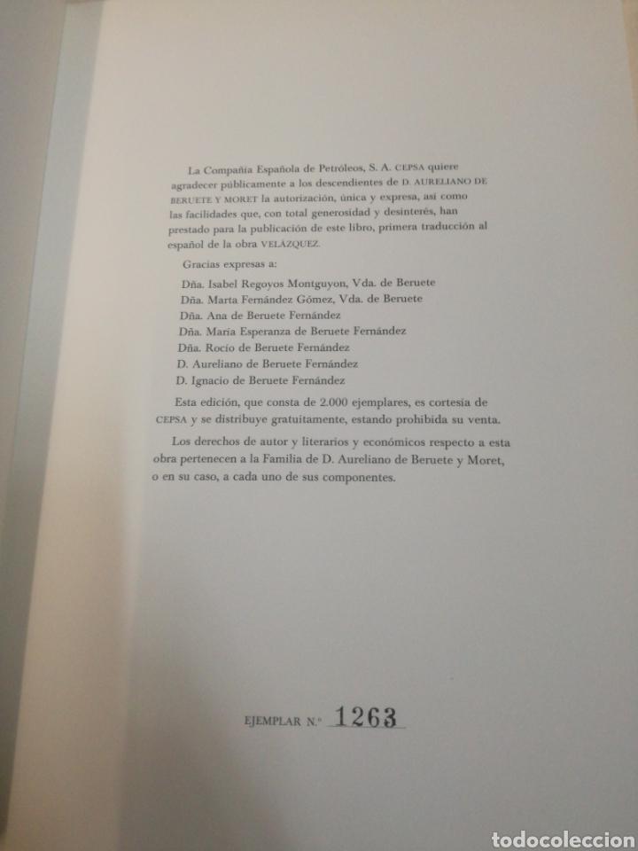 Libros de segunda mano: VELÁZQUEZ DE AURELIANO DE BERUTE - Foto 2 - 165604642