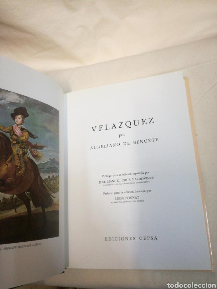 Libros de segunda mano: VELÁZQUEZ DE AURELIANO DE BERUTE - Foto 3 - 165604642