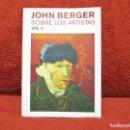 Libros de segunda mano: SOBRE LOS ARTISTAS VOL.2 JOHN BERGER GUSTAVO GILI. Lote 165728494