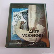 Libros de segunda mano: MUSEO DE ARTE MODERNO PARÍS. CAMON AZNAR, JOSE. COL LIBROFILM. ED. AGUILAR. MADRID 1974 - ARM22. Lote 165774818