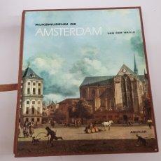 Libros de segunda mano: RIJKSMUSEUM DE AMSTERDAM. MADRID: AGUILAR, 1968. 25.5X29. TELA. BUENO / ESTUCHE. 376 PP/ - ARM22. Lote 165775318