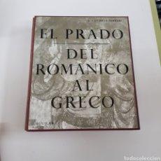 Libros de segunda mano: EL PRADO. DEL ROMÁNICO AL GRECO. E. LAFUENTE FERRARI. LIBROFILM AGUILAR. - ARM22. Lote 165775630