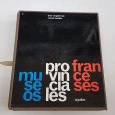 Libros de segunda mano: MUSEOS PROVINCIALES FRANCESES -163 ILUSTRACIONES A B/N 100 DIAPOSITIVAS - ED. AGUILAR. - ARM22. Lote 165776066