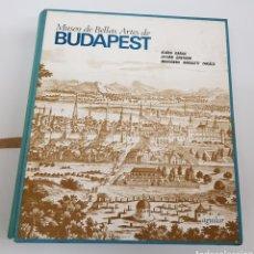 Libros de segunda mano: MUSEO BELLAS ARTES DE BUDAPEST - 180 ILUSTRACIONES A B/N 100 DIAPOSITIVAS - ED. AGUILAR - ARM22. Lote 165776550