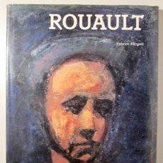 Libros de segunda mano: ROUAULT - HERGOTT, FABRICE - ROUAULT - BARCELONA 1991 - ILUSTRADO - LIVRE EN FRANÇAIS. Lote 166357710