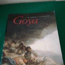 Libros de segunda mano: GOYA EL CAPRICHO Y LA INVENCION. Lote 166750378