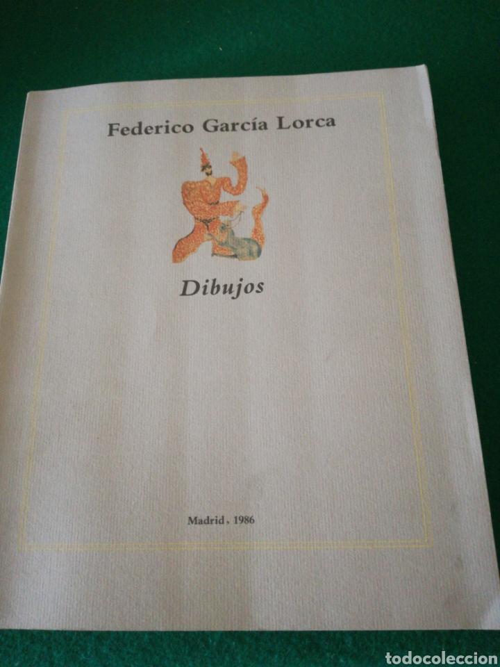 FEDERICO GARCIA LORCA DIBUJOS (Libros de Segunda Mano - Bellas artes, ocio y coleccionismo - Pintura)