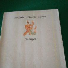 Libros de segunda mano: FEDERICO GARCIA LORCA DIBUJOS. Lote 166750742