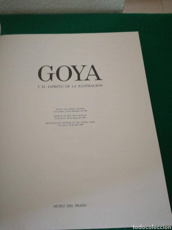 Libros de segunda mano: GOYA Y EL ESPIRITU DE LA ILUSTRACIÓN - Foto 2 - 166751954