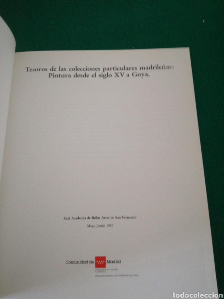 Libros de segunda mano: CATALOGO COLECIONES PARTICULARES MADRILEÑAS DE PINTURA - Foto 4 - 166753682