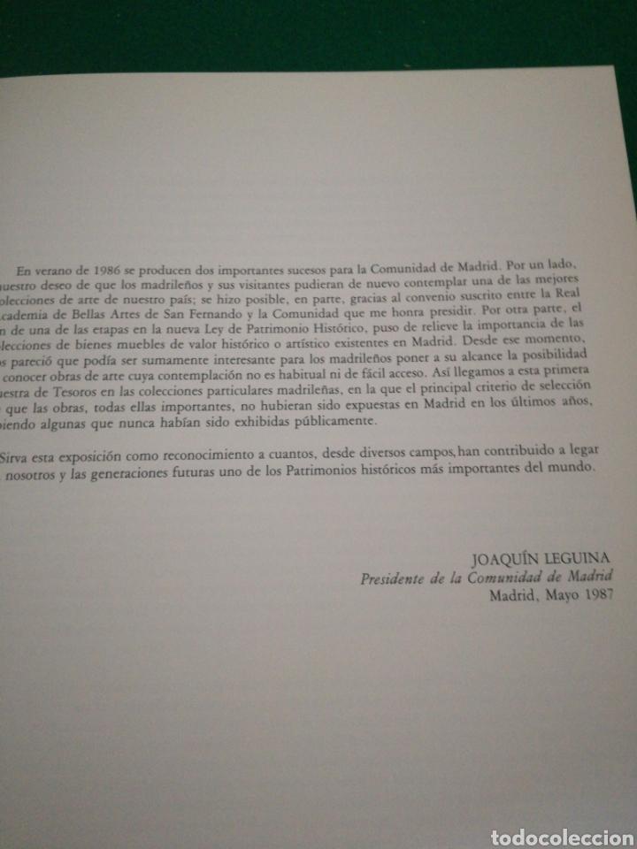 Libros de segunda mano: CATALOGO COLECIONES PARTICULARES MADRILEÑAS DE PINTURA - Foto 5 - 166753682