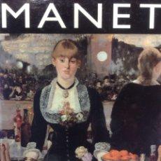Libros de segunda mano: MANET. LA ERA DE LOS IMPRESIONISTAS - GLOBUS - 1984. Lote 166883216