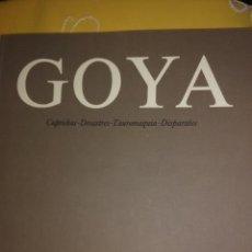 Libros de segunda mano: GOYA, CAPRICHOS, DESASTRES, TAUROMAQUIA, DISPARATES. PÉREZ-SANCHEZ. F. JUAN MARCH. 1979.. Lote 167186500