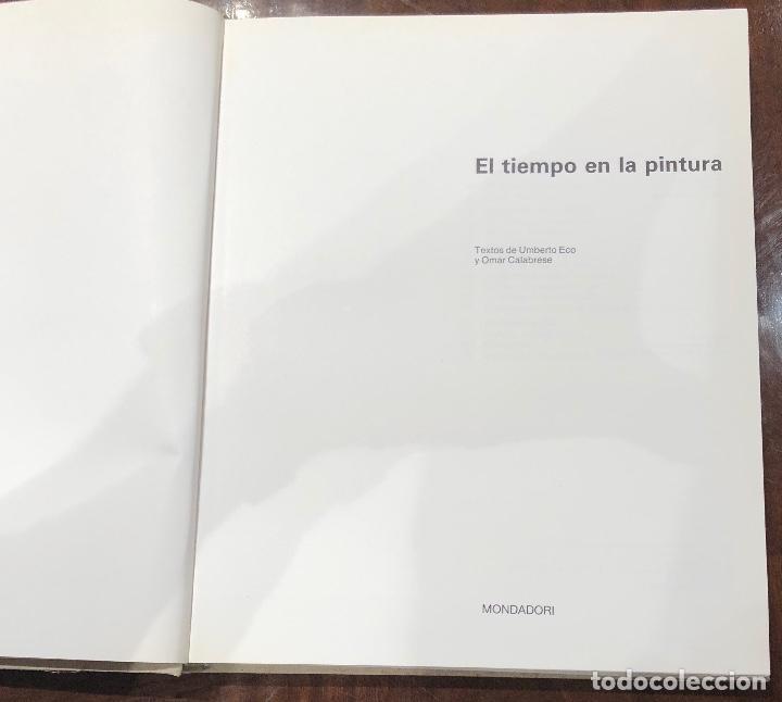 Libros de segunda mano: El tiempo en la pintura(39€) - Foto 3 - 167470926
