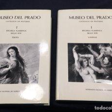 Libros de segunda mano: MUSEO DEL PRADO:CATÁLOGO DE PINTURAS TOMO L (2 VOLÚMENES). MATÍAS DIAZ PADRON. Lote 167583562