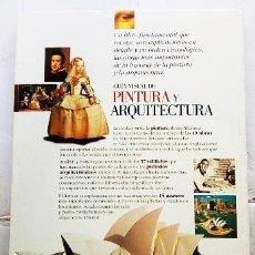 Libros de segunda mano: GUÍA VISUAL DE PINTURA Y ARQUITECTURA . Lote 167680844