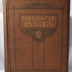 Libros de segunda mano: ALBÚM DE LAS GALERIAS DE LOS MUSEOS ALEMANES, LABOR, 1925. Lote 167913536