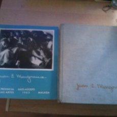 Libros de segunda mano: JUAN E. MINGORANCE JULIO TRENAS ARTISTAS ESPAÑOLES DE NUESTRO TIEMPO Y CATALOGO DE 1963. Lote 168019472