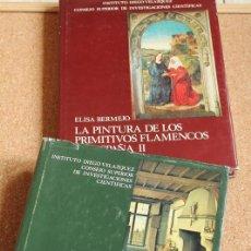Libros de segunda mano: LA PINTURA DE LOS PRIMITIVOS FLAMENCOS EN ESPAÑA. TOMOS I Y II. BERMEJO MARTÍNEZ (ELISA). Lote 168083917