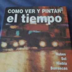 Libros de segunda mano: CÓMO VER Y PINTAR EL TIEMPO. PATRICIA SELIGMAN 1993. Lote 168087680