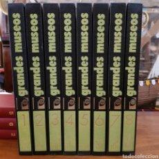 Libros de segunda mano: LA PINTURA EN LOS GRANDES MUSEOS 8 TOMOS ED. PLANETA 1978 LUIS MONREAL. Lote 168090858