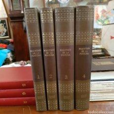 Libros de segunda mano: MAESTROS DE LA PINTURA 1973 NOGUER RIZZOLI 4 TOMOS COMPLETA. Lote 168101589