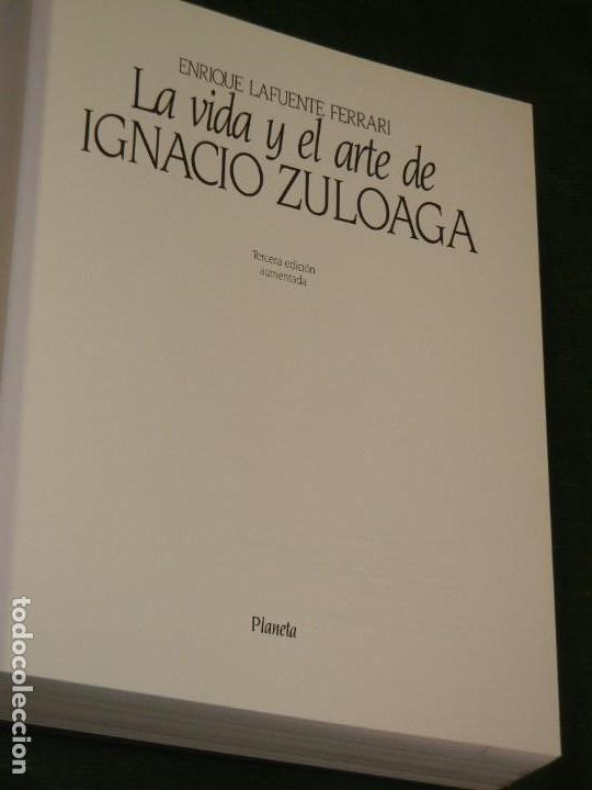Libros de segunda mano: LA VIDA Y EL ARTE DE IGNACIO ZULOAGA, DE ENRIQUE LAFUENTE FERRARI - ED.PLANETA 3A.ED 1990 - Foto 2 - 168184080
