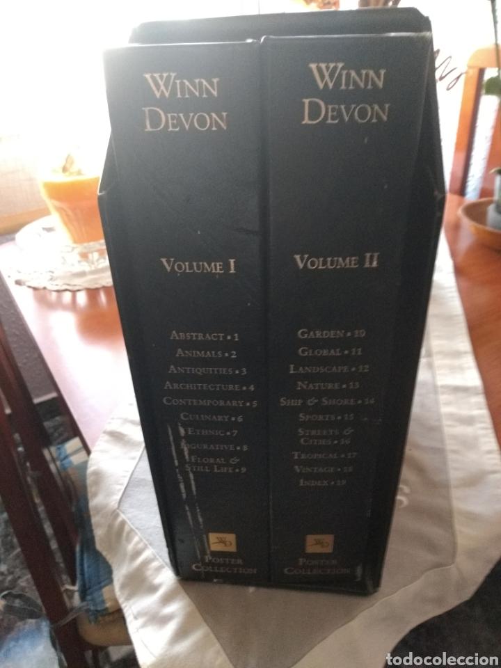 Libros de segunda mano: MUY DIFÍCIL(2 LIBROS WINN DEVON PÓSTER COLLECCTION , VOL. I - II ) . MÁS LIBROS PINTORES MI PERFIL - Foto 13 - 168220590