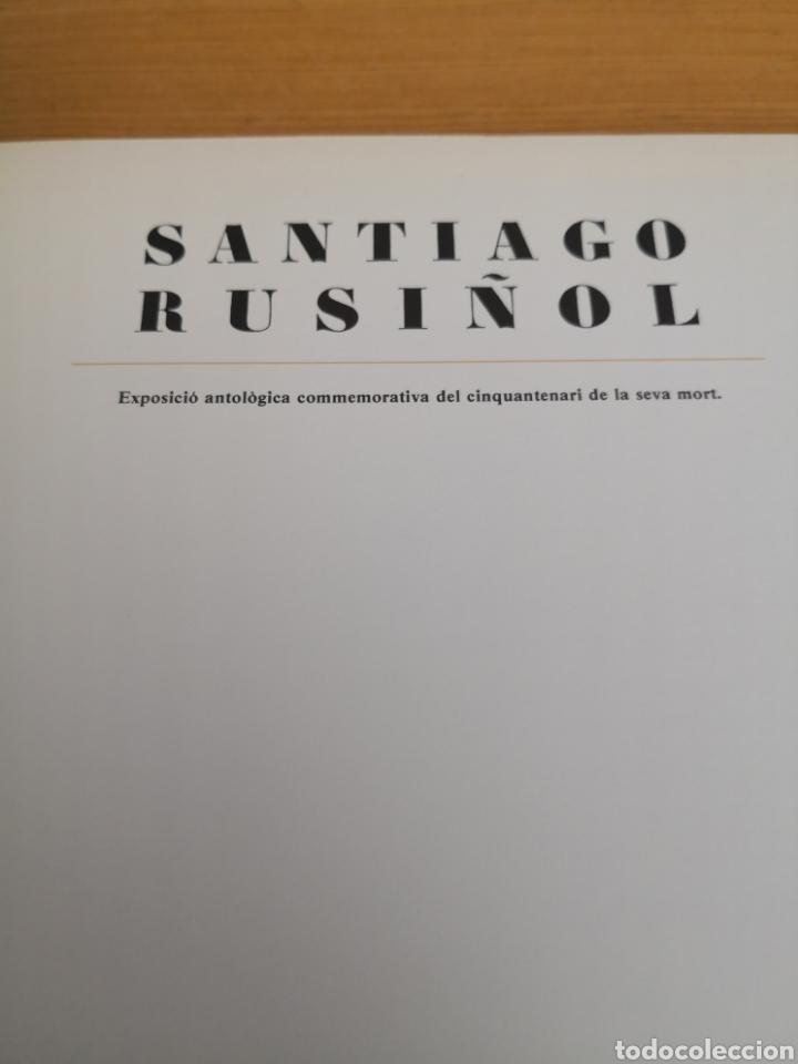 Libros de segunda mano: Santiago rusiñol 1861-1931 departament de cultura generalitat de catalunya - Foto 2 - 168249730