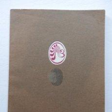 Libros de segunda mano: PERICH - 4º ANIVERSARIO DISCOTECA BOCACCIO 1971 - PORTADA TROQUELADA - VER FOTOS. Lote 168287028