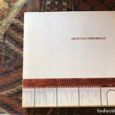 Libros de segunda mano: ARTISTAS CORDOBESES 1984. Lote 168694924