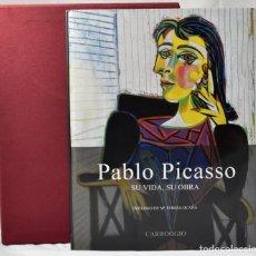Libros de segunda mano: PABLO PICASSO, SU VIDA, SU OBRA, GIORGIO CORTENOVA. Lote 134083574