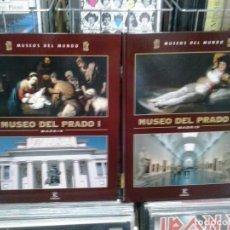 Libros de segunda mano: LMV - MUSEOS DEL MUNDO, MUSEO DEL PRADO I Y II, 2 TOMOS. Lote 168775628