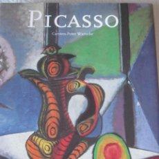 Libros de segunda mano: PICASSO DE CARSTEN-PETER WARNCKE DE TASCHEN. Lote 168813220