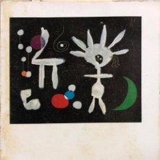 Libros de segunda mano: MIRO 1940-1955. POR GUY WEELEN. EDITORIAL GUSTAVO GILI. BARCELONA, 1960. Lote 168920476