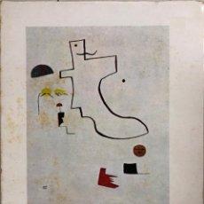 Libros de segunda mano: MIRO 1924-1940. POR GUY WEELEN. EDITORIAL GUSTAVO GILI. BARCELONA, 1960. Lote 168920532