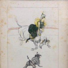 Libros de segunda mano: TOULOUSE-LAUTREC. EN EL CIRCO. EDITORIAL GUSTAVO GILI. BARCELONA, 1957. Lote 168920700
