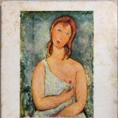 Libros de segunda mano: MODIGLIANI. FIGURAS. EDITORIAL GUSTAVO GILI. BARCELONA, 1958. . Lote 168920824