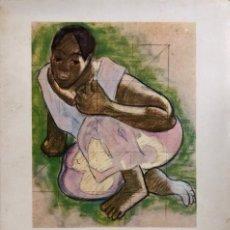 Libros de segunda mano: GAUGUIN. TAHITI. POR HENRI PERRUCHOT. EDITORIAL GUSTAVO GILI. BARCELONA, 1958. Lote 168921136