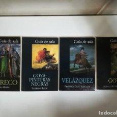 Libros de segunda mano: LOTE DE 4 GUIAS DE SALA. FUNDACIÓN AMIGOS DEL MUSEO DEL PRADO. ALIANZA EDITORIAL.. Lote 169023936